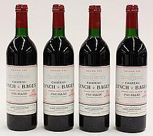 1986 Chateau Lynch & Bages Pauillac, each 750ml