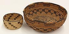 Native American Apache basketry bowl