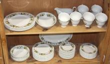 (lot of 51) Royal Doulton partial table service in the