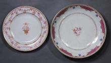 Two Chinese Export Porcelain