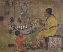 Watercolor, Edwin Deming