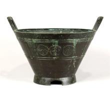 Japanese Bronze Large Vessel