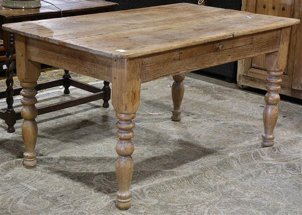 Provincial style harvest table