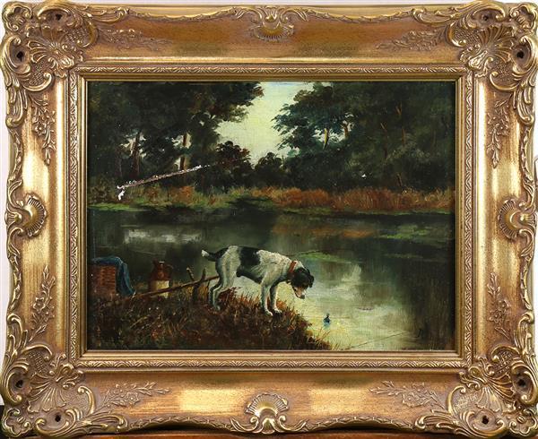 Painting, Alfred Duke