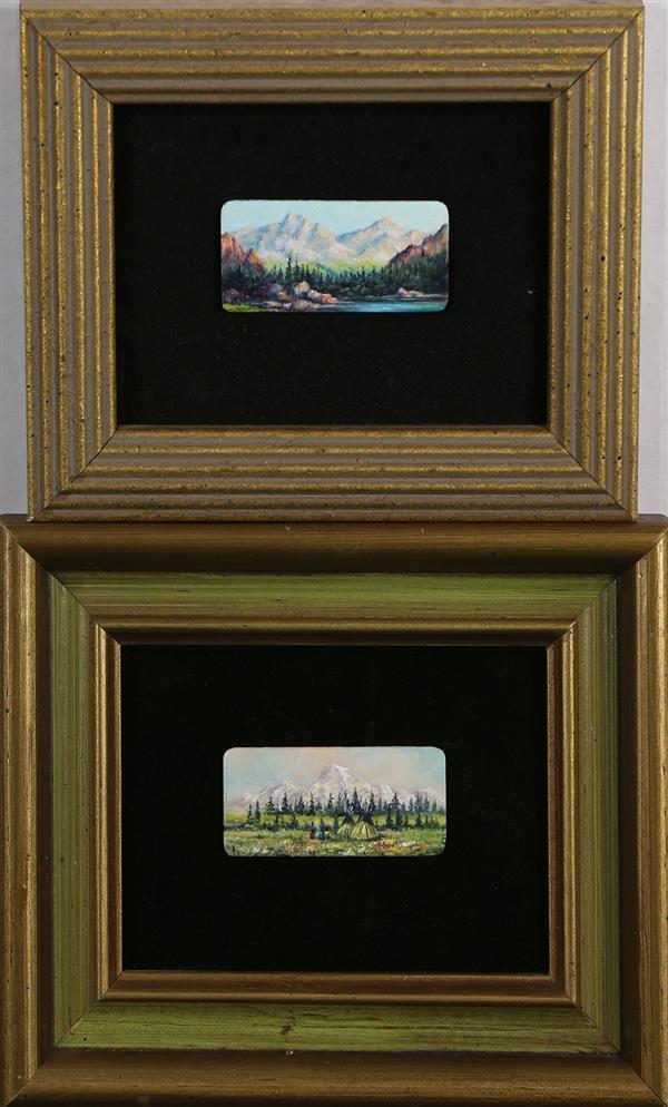Paintings, Helen Miles