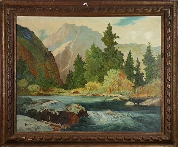 Painting, California Landscape