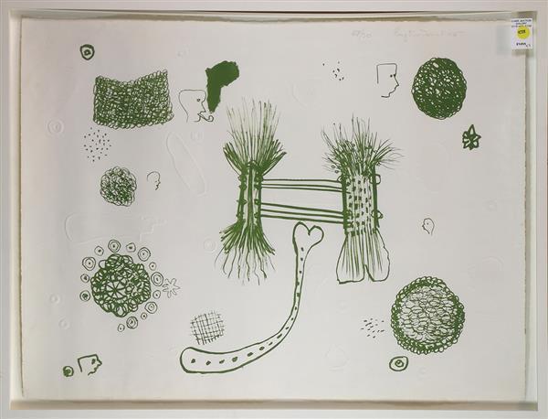 Print, Roy De Forest