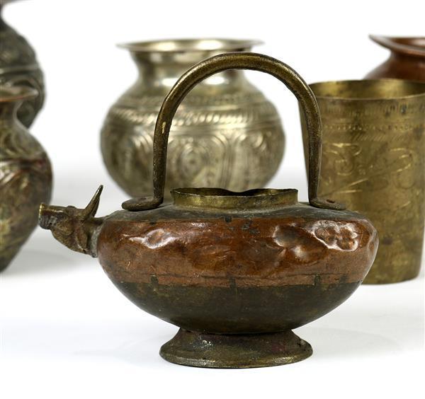 Indian Metal Ritual Vessels