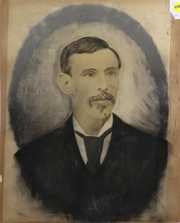 Work on Paper, Portrait of a Gentlemen