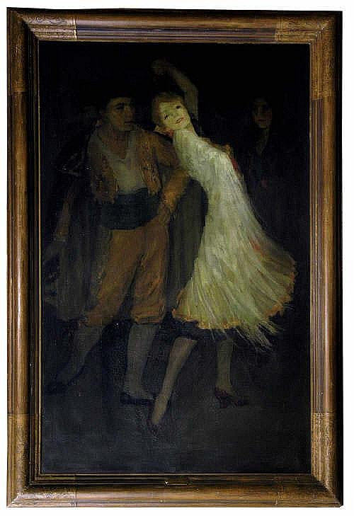 Barton, Loren Roberta: Framed oil on canvas, ''The