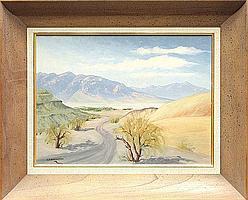 Painting, Beatrice Gildersleeve, Desert Path