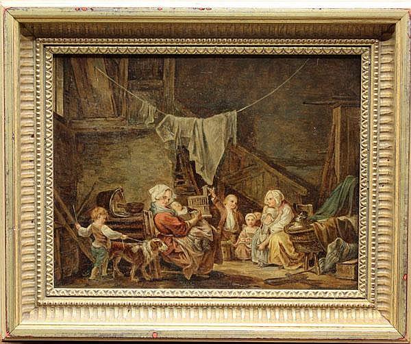Painting, manner of Govert Dircksz Camphuyen