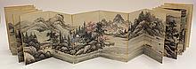 Chinese Album, after Wang Hui, Fishing Village