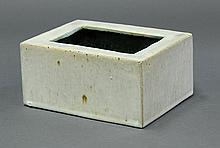 Chinese Rectangular Ceramic Brush Washer