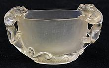 Chinese Smoky Quartz Libation Cup