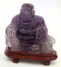 Chinese Amethyst Budai