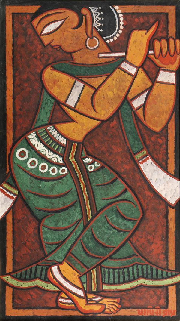 Painting, Jamini Roy