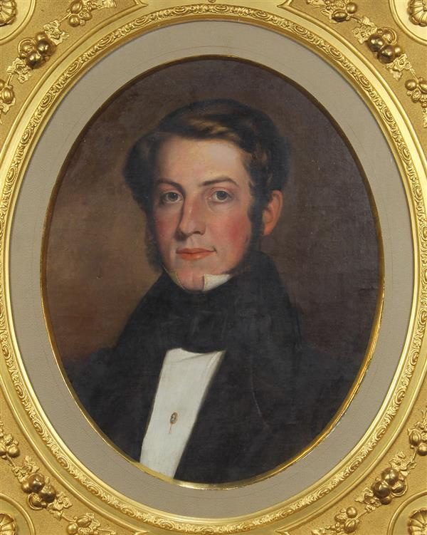 Painting, Portrait of a Gentleman