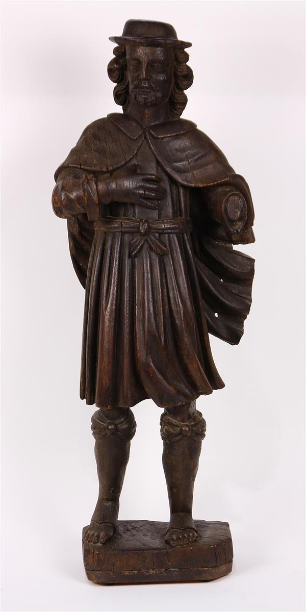Flemish carved figural sculpture