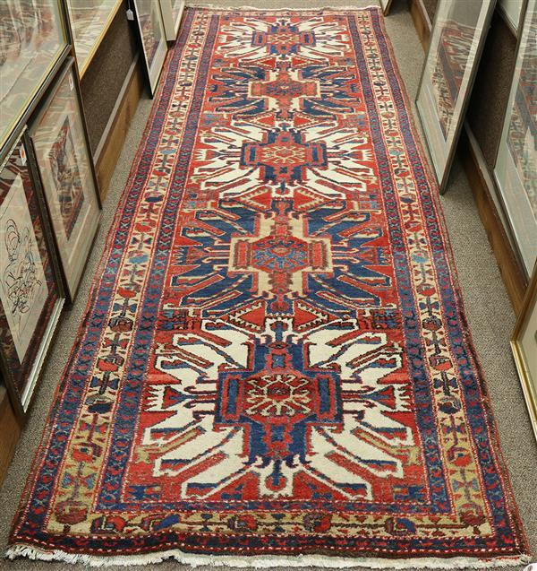 Persian Kazak Eagle design carpet