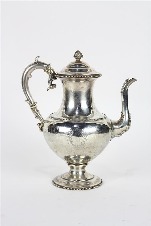 Tiffany & Co . sterling silver teapot