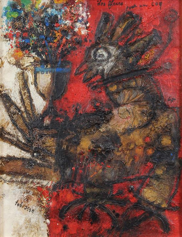 Painting, Théo Tobiasse