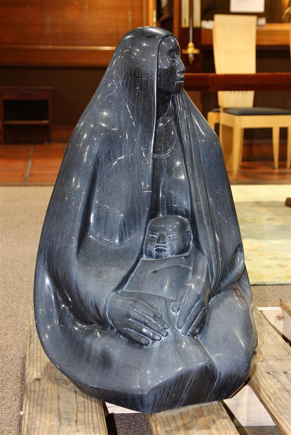 Marble sculpture, After Francisco Zuniga