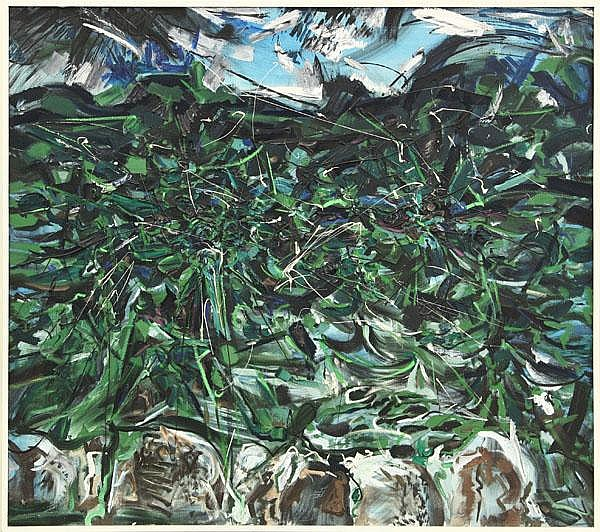 Painting, Glenn Wessels, Dark Sea