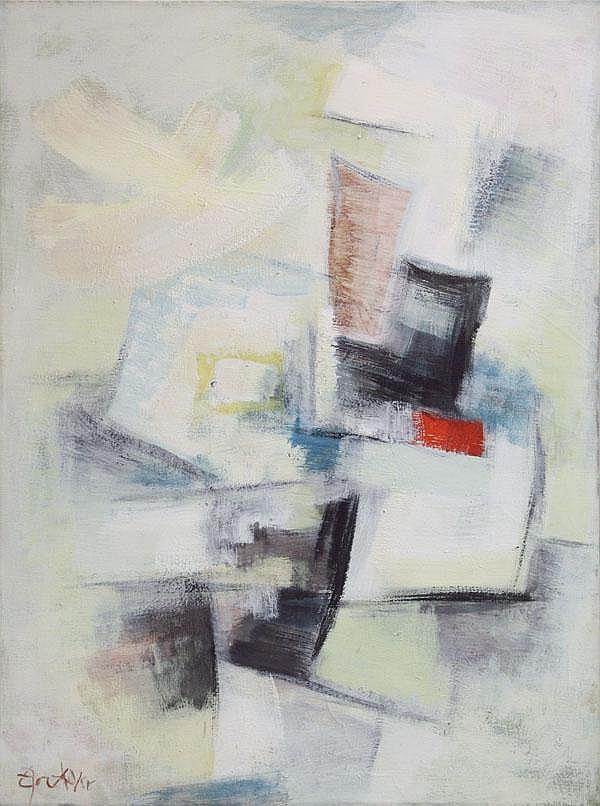 Painting, Egon Adler, Czechoslovakia