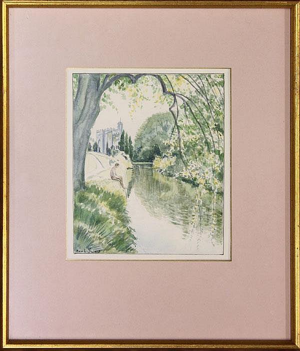 Watercolors, Paul Swan