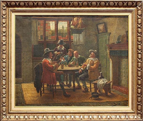 Painting, Wilhelm F. Geissel