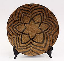 Native American basketry bowl