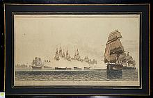 Prints, William Daniell, Fleets, 1804