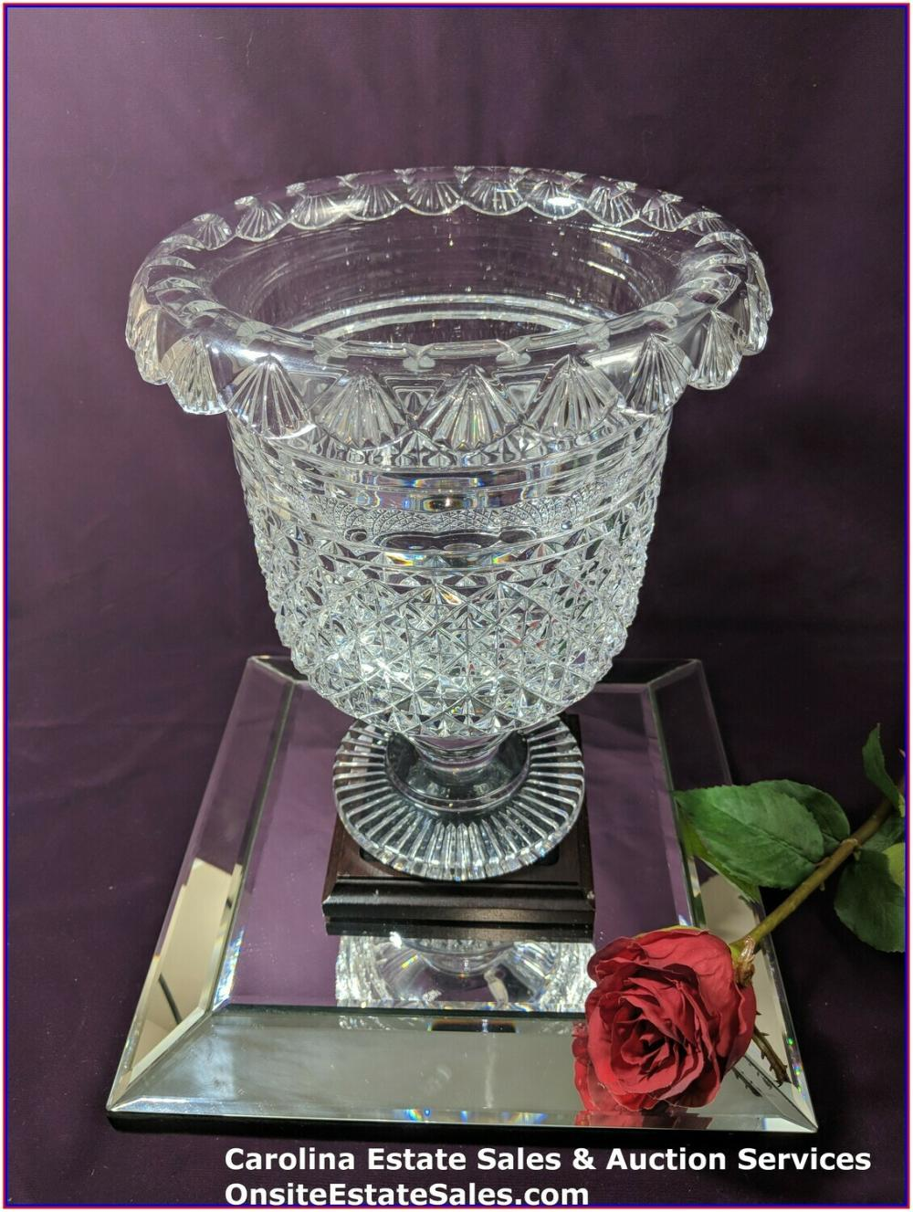 Waterford Crystal Museum Turnover Bowl #21/100