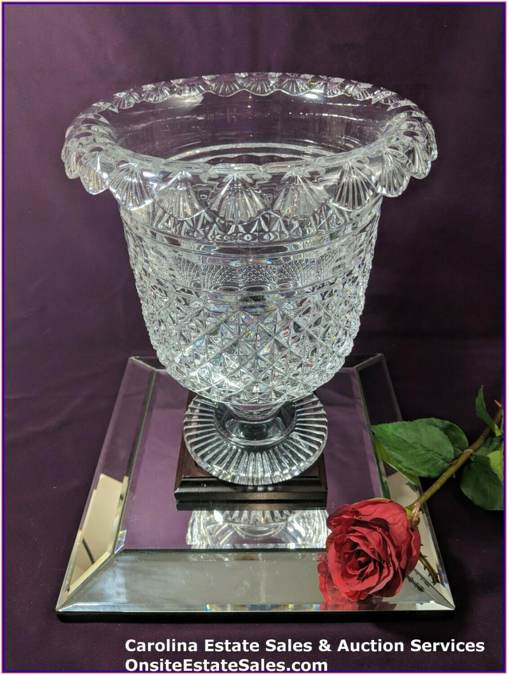 Waterford Crystal Museum Turnover Bowl #18/100