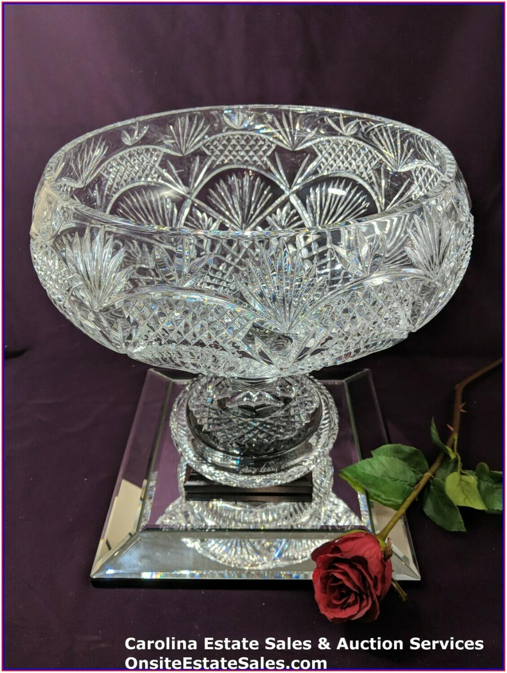 Waterford Crystal Jim O'Leary Punch Bowl