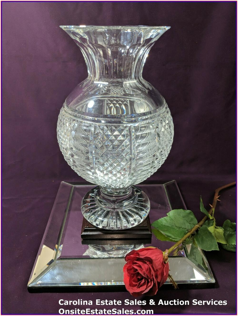Waterford Crystal Jim O'Leary Vase 2004