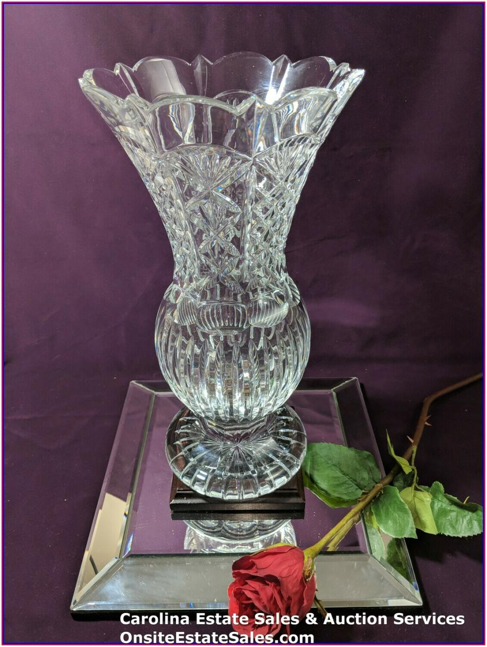 "Waterford Vase 14""  121/250 Made"