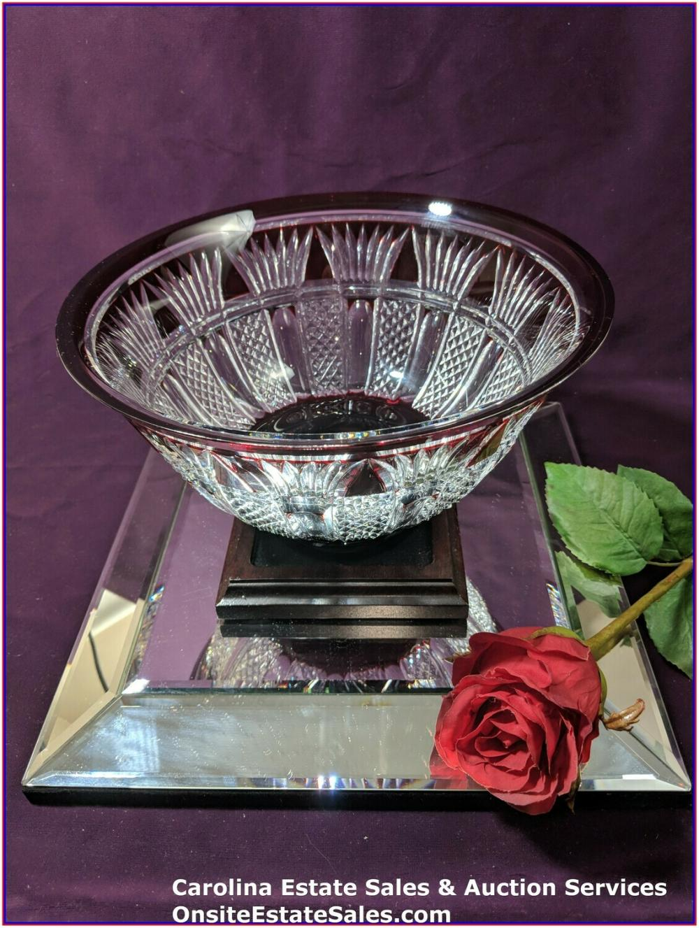 Waterford crystal bowl Time Square 100 years
