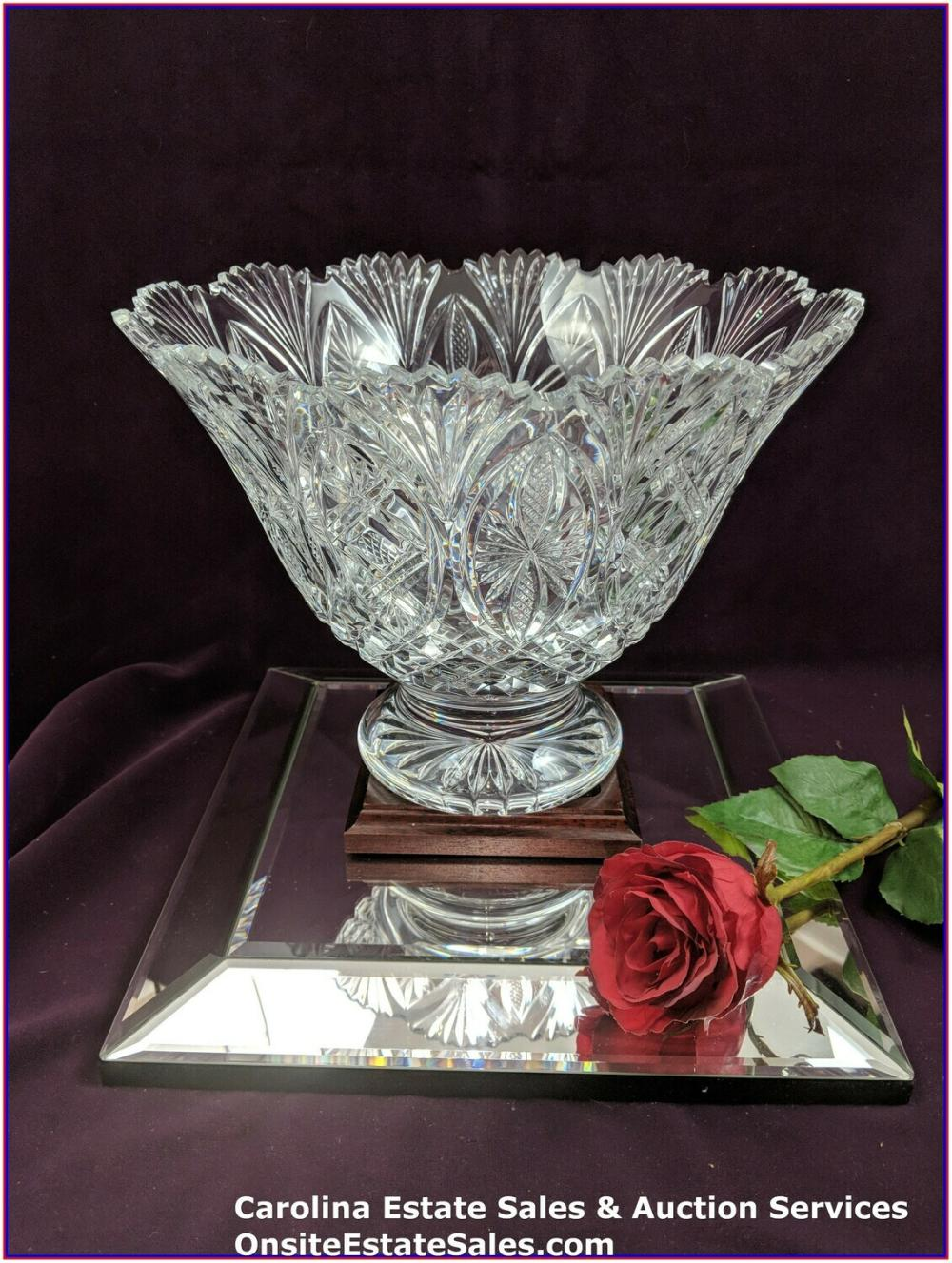 Waterford Crystal Bowl Numbered 43/250