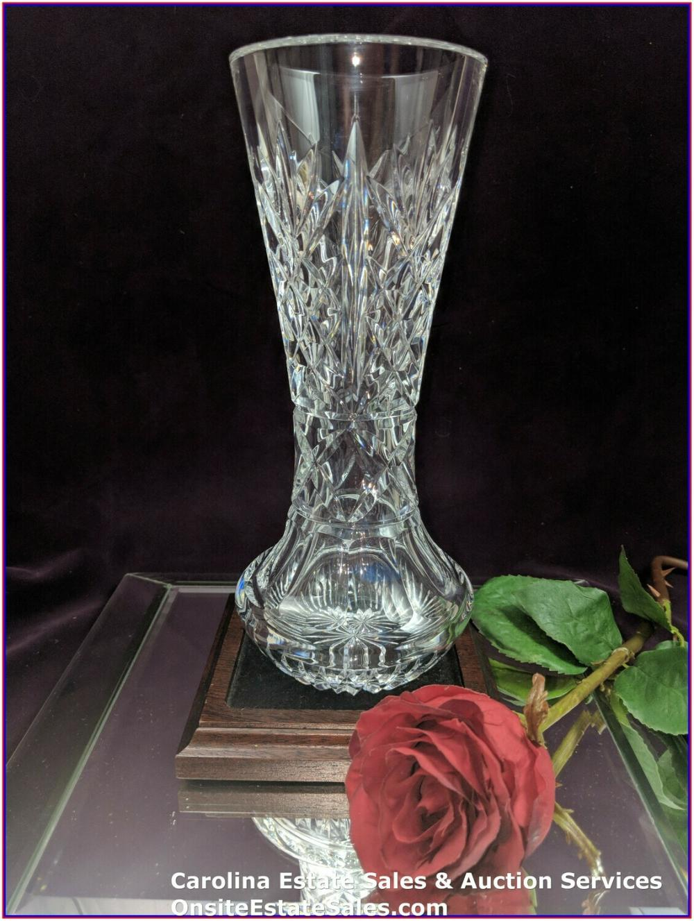 """Waterford Crystal Approx 10"""" Beautiful Vase"""