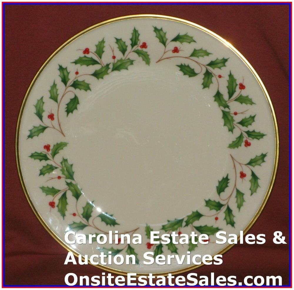 Lenox Holiday Dimension Holly Berry Dinner Plate Qty: 2