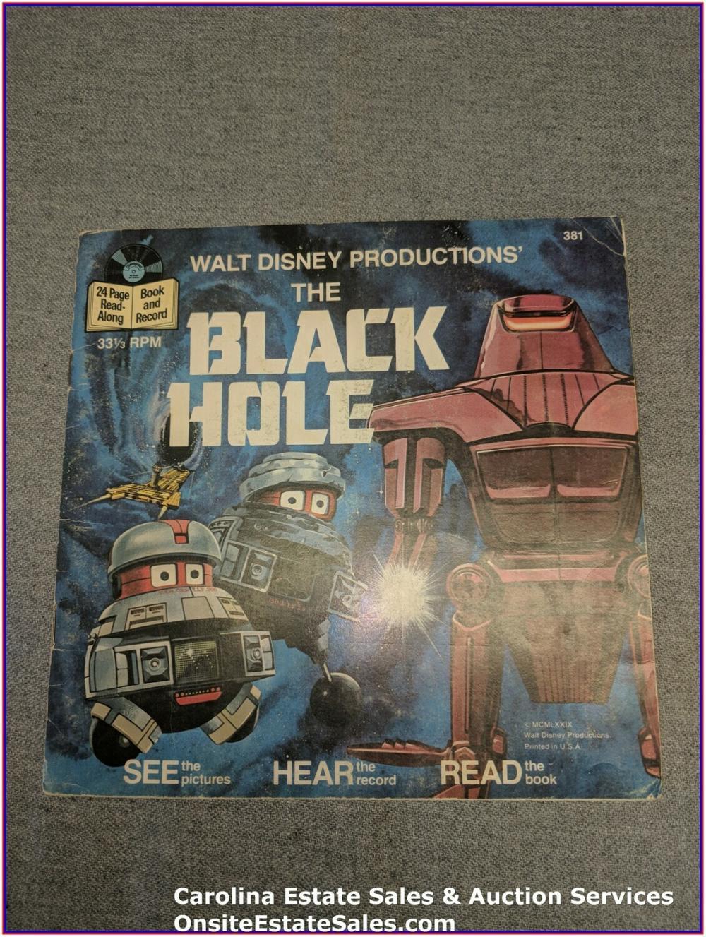 The Black Hole - Disney Book & Record