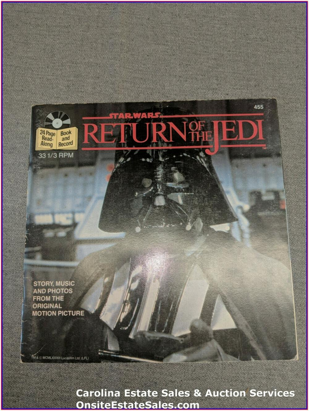 Return of The Jedi Book & Record