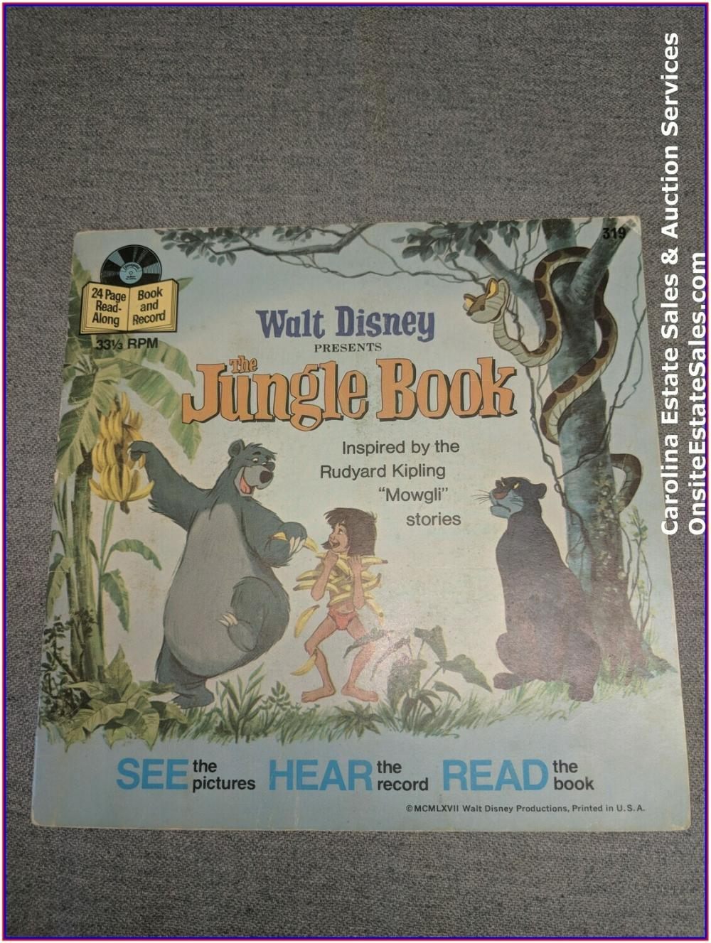 The Jungle Book - Disney Book & Record