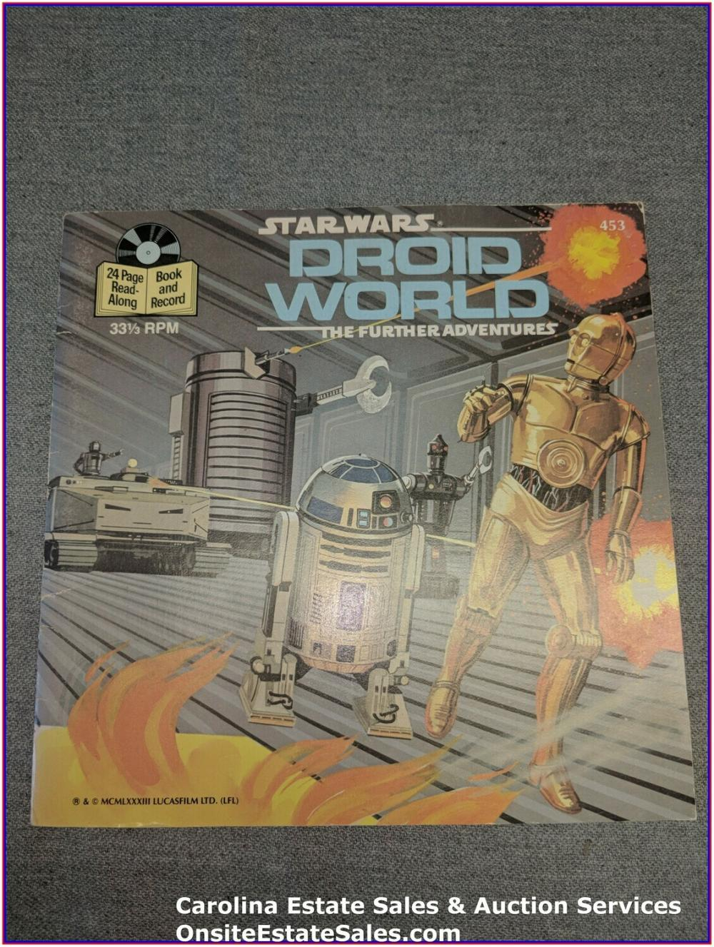 Star Wars Droid World - Disney Book & Record