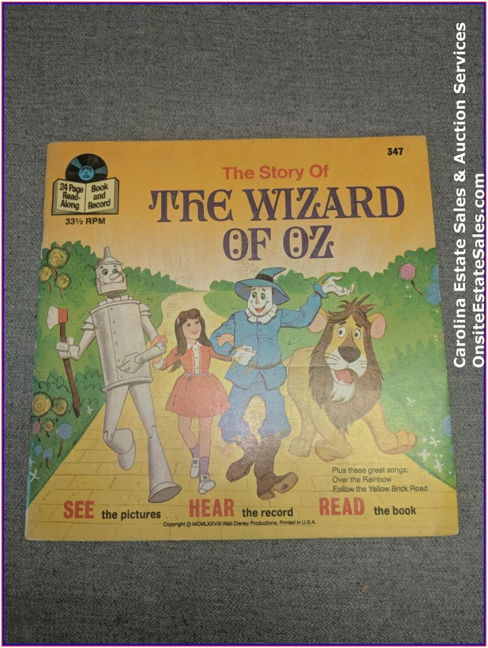 The Wizard of Oz - Book & Record