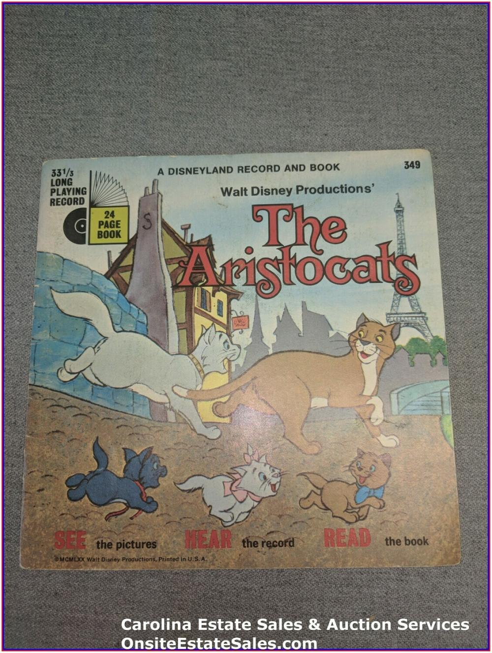 The Aristocats - Book & Record