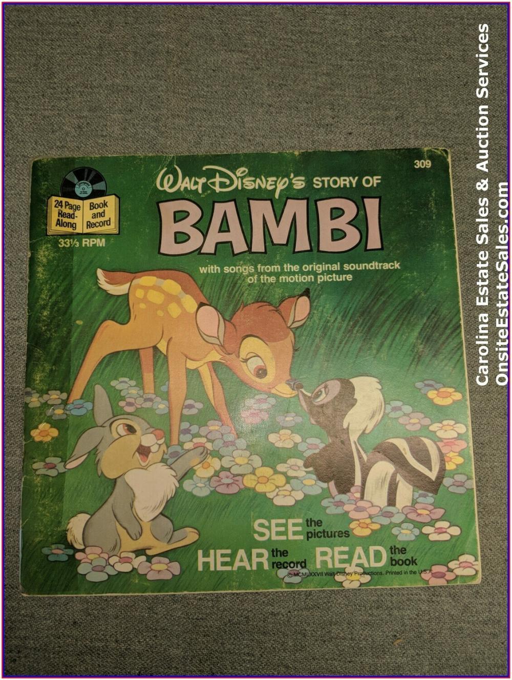 Bambi - Book & Record