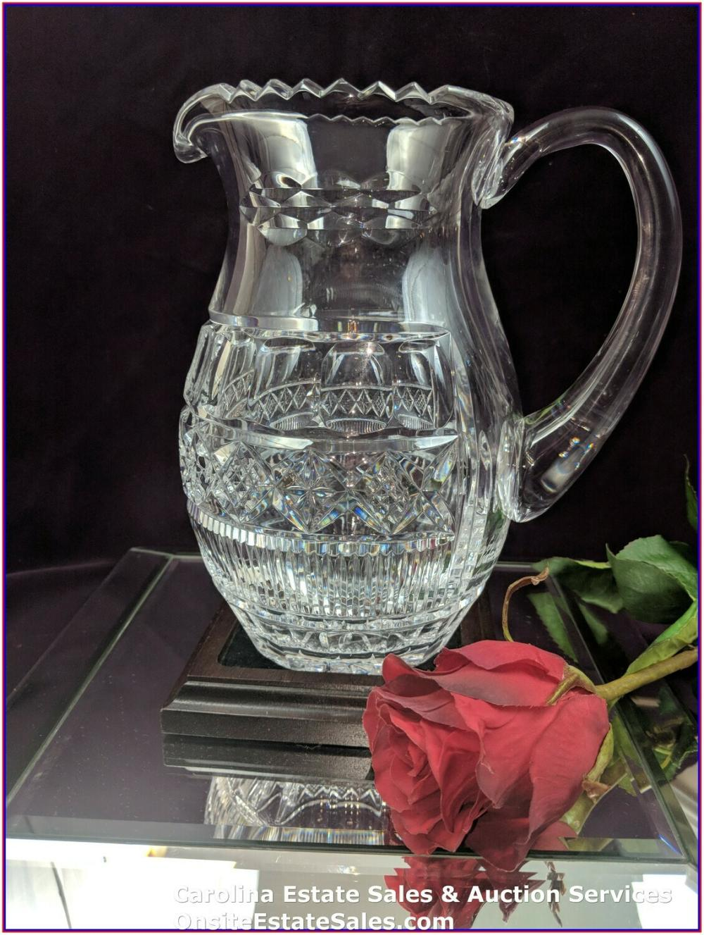 "Waterford Crystal Pitcher ""Rare"" Signed Museum Collection #17/100 by Jim O'Leary"